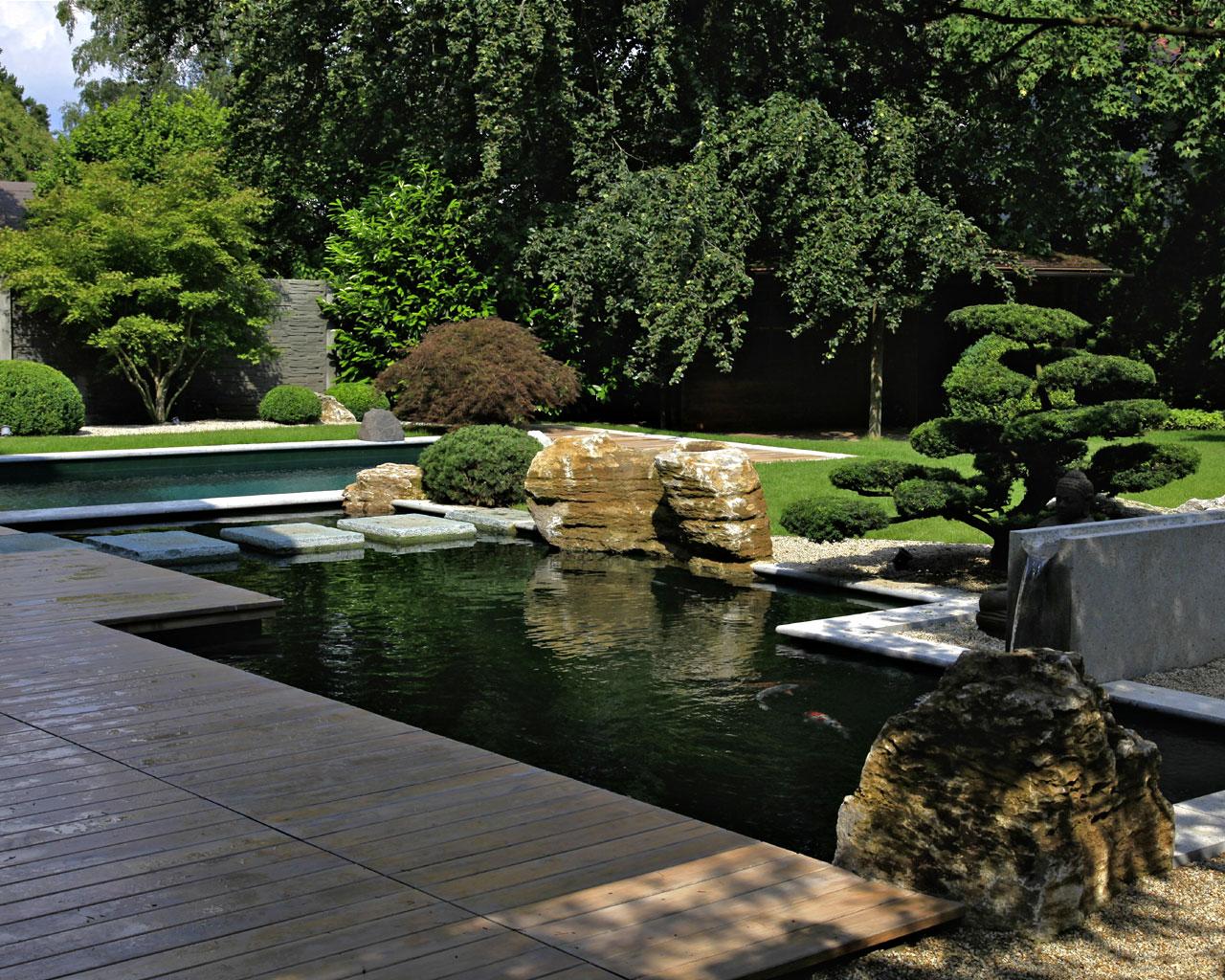 Formale Gärten Wasser Garten Kirchner