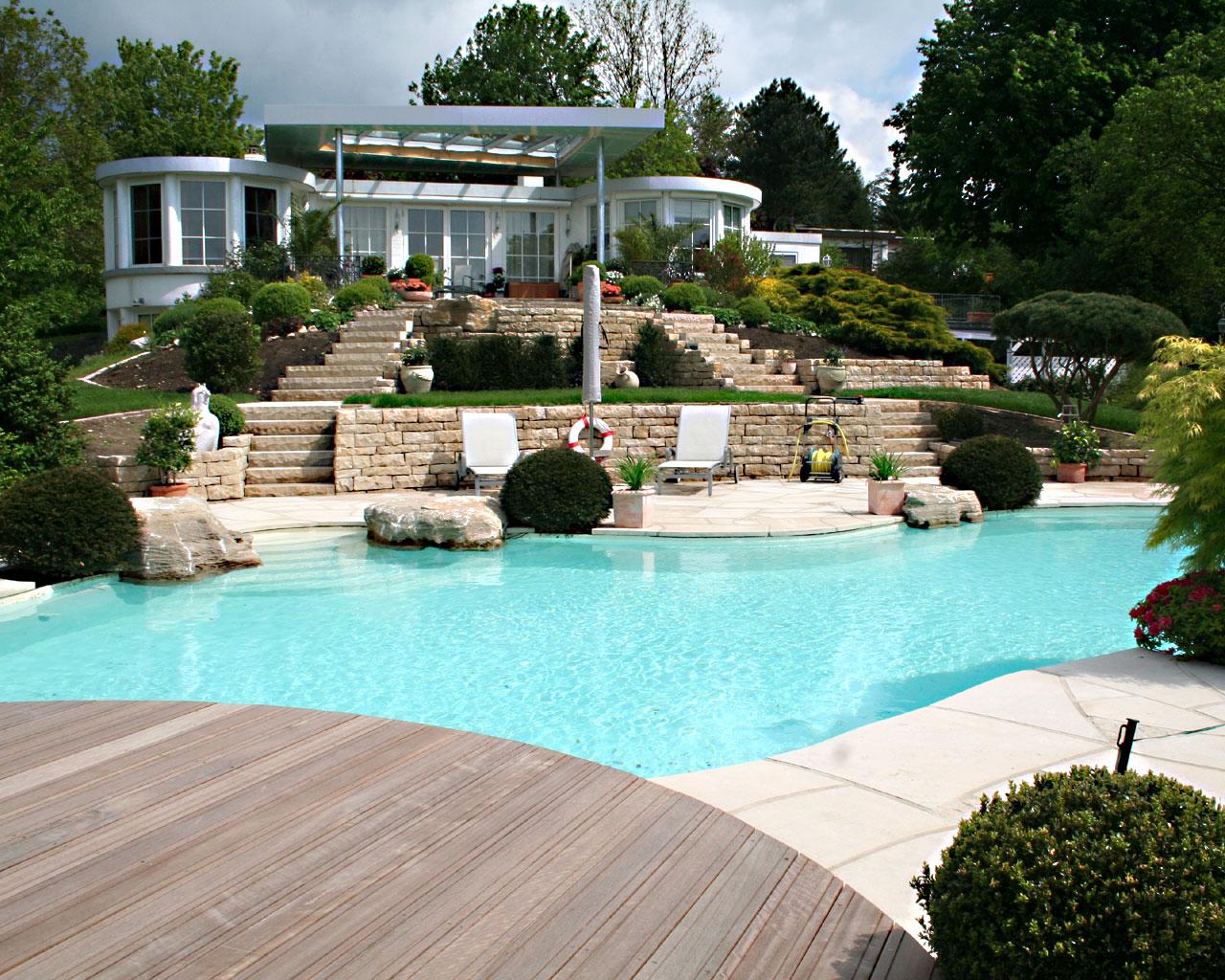 Wasser Im Garten : Planung wasser garten kirchner