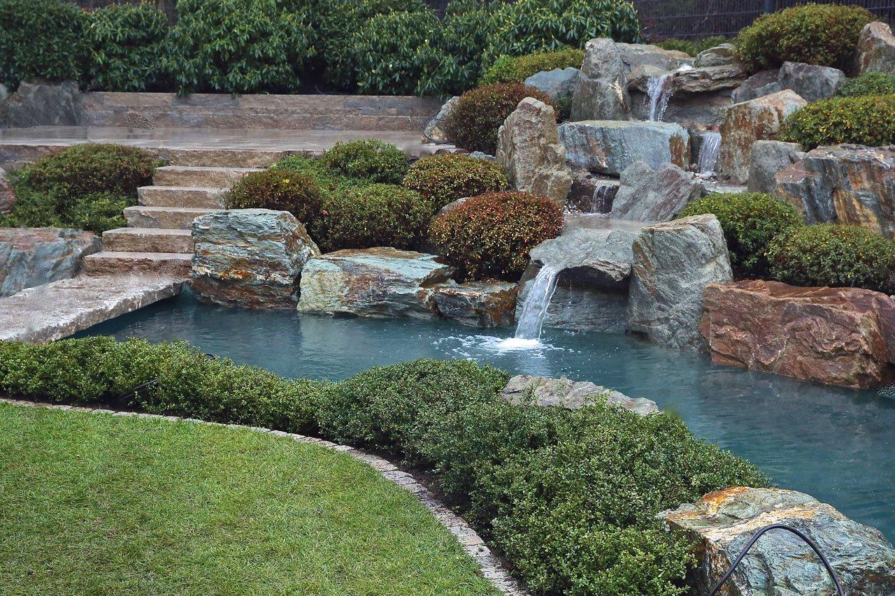 Koiteiche Wasser Garten Kirchner